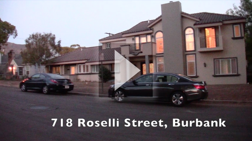 Video of 718 Roselli Street in Burbank
